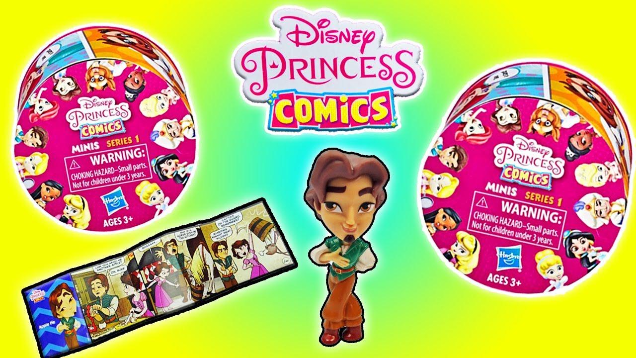 Disney Princess Comics Minis   Series 1   Disney Blind Bag ...