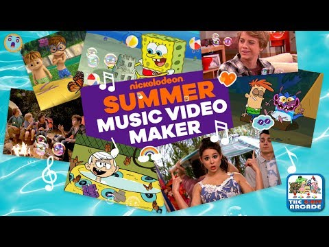 Nickelodeon Summer Music Video Maker - Make Your Own Music Vid (Nickelodeon Games)