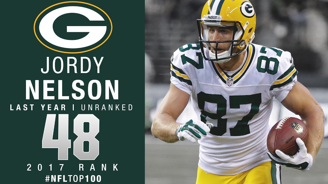 48 Jordy Nelson WR Packers Top 100 Players of 2017