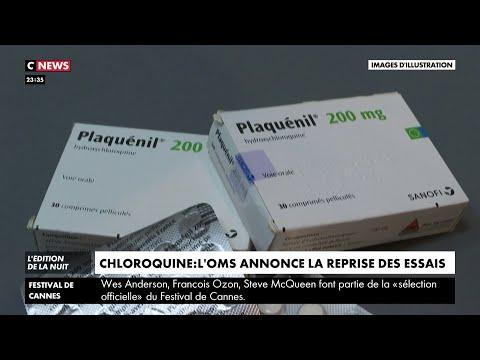Coronavirus : l'OMS annonce la reprise des essais cliniques sur l'hydroxychloroquine