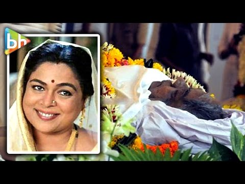 Reema Lagoo's Body Taken For Last Rites Ceremony