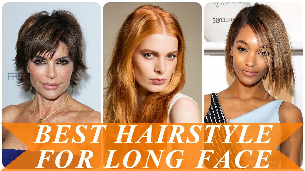 Best hairstyle for long face - YouTube
