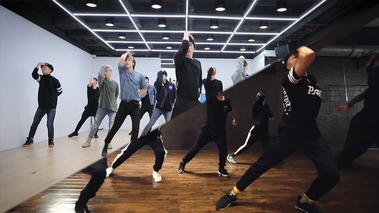 ATEEZ(에이티즈) - 'WONDERLAND' Original vs. Official Choreo [Dance Practice Ver.]