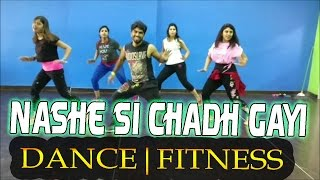 Nashe Si Chad Gayi | Befikre  | Dance fitness | Zumba  | dance floor studio