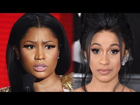 Nicki Minaj ACCUSED Of Leaking Cardi B's Phone Number To Fans