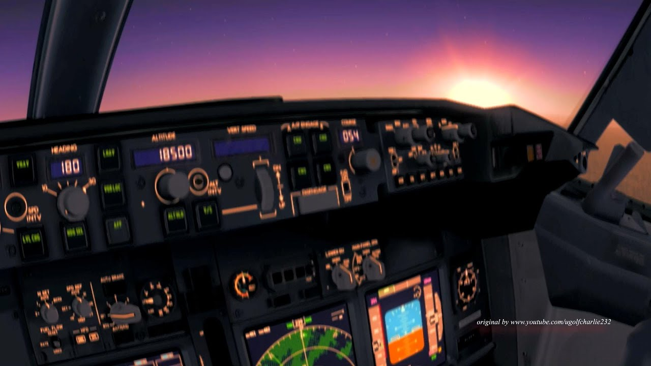 Cockpit Hd Wallpaper Life As An Airline Pilot Fsx Version Youtube