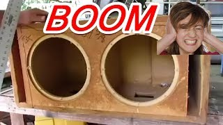 The loudest Subwoofer Box Ever