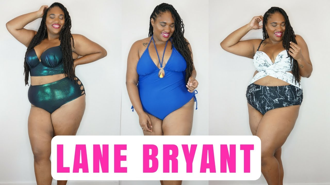 327791e79e1 PLUS SIZE SWIMWEAR TRY ON| Lane Bryant| Swim Week 2018 - YouTube