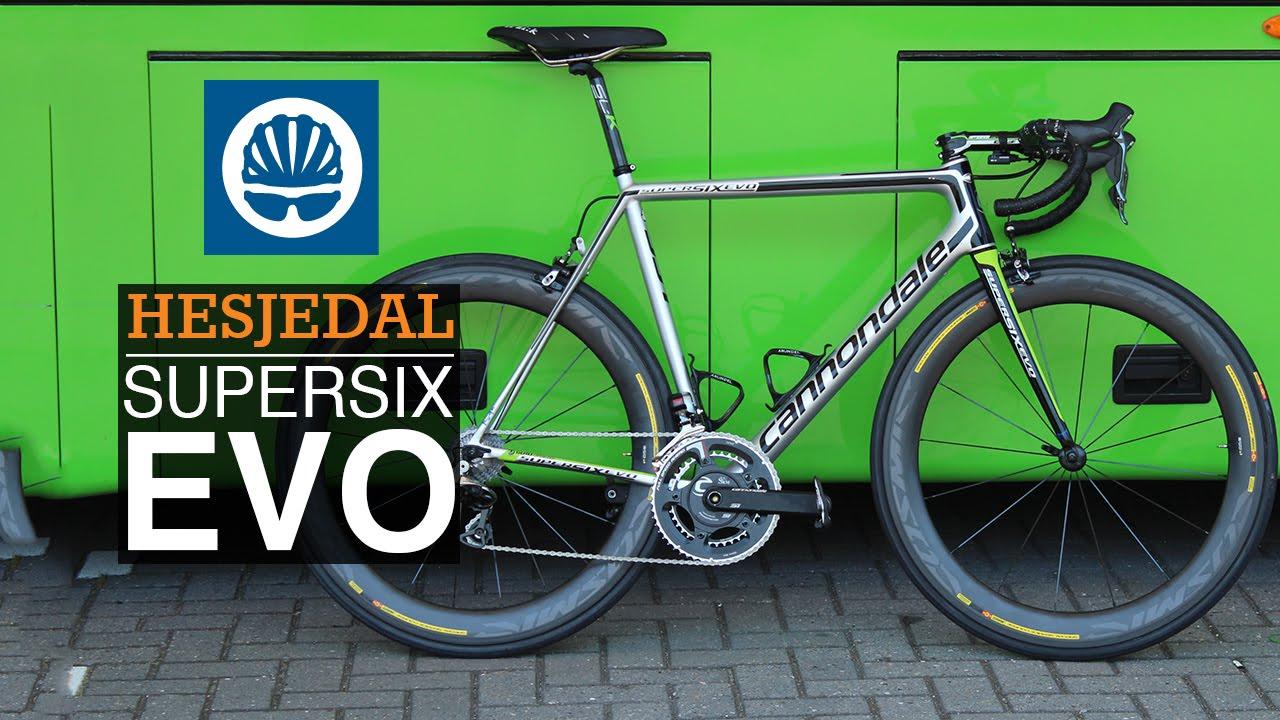 42c5126b429 Ryder Hesjedal's New Cannondale SuperSix EVO Hi-MOD - YouTube