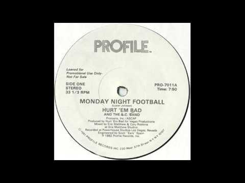 Hurt 'Em Bad & The S.C Band - Monday Night Football (Instrumental)