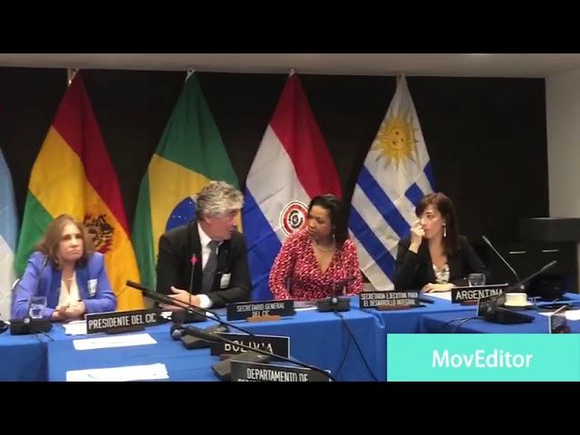 Presentacion de Jorge Metz, Secretario General del CIC en firma de MOU ante la OEA