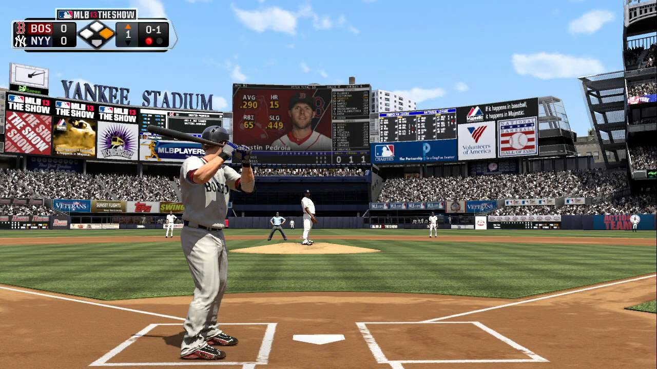 MLB 13 The Show with MLB 2K13 mentary