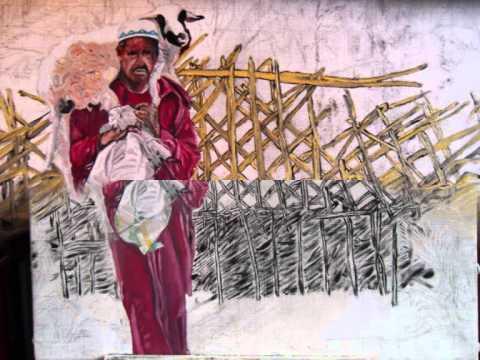 Zenati abderrahmane l'artiste peintre marocain des mill