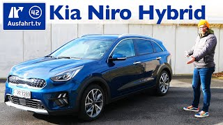 2020 Kia Niro Hybrid - Kaufberatung, Test deutsch, Review, Fahrbericht Ausfahrt.tv