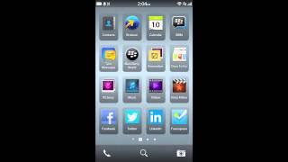 كيفية إعداد شبكة اتصالات على الهاتف الذكي بلاك بيري 10