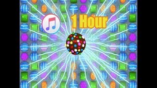 "Candy Crush: 1 hour of Smoothing Candy Music to make you ""Sleep Better""."