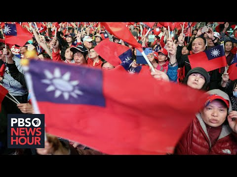 In Taiwan, presidential election brings long-simmering tensions with China to the surface