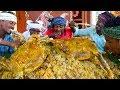 MUTTON BIRYANI   2 FULL GOAT Biryani recipe cooking and eating in village   Arabic Full Goat Cooking