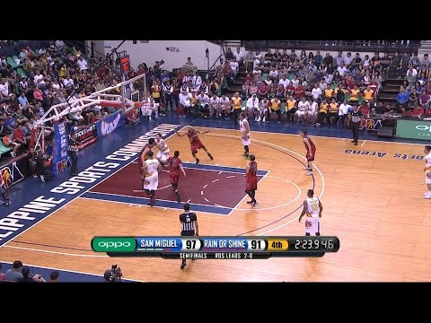 Jeff Chan's Sneaky Play! | PBA Commissioner's Cup 2016