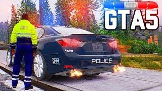 Полицейские Будни  GTA 5 - Погоня за Стритрейсером