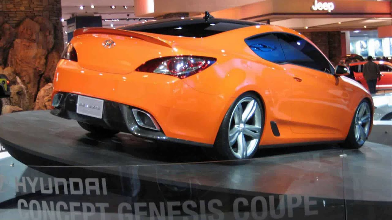 hyundai genesis coupe tuning cars - YouTube