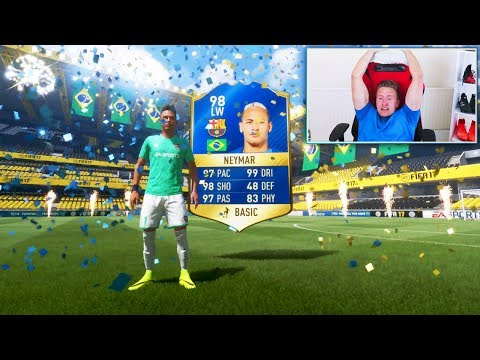 98 TOTS NEYMAR IN A PACK - FIFA 17 Pack Opening