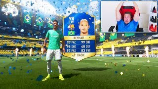 98 TOTS NEYMAR IN A PACK!! - FIFA 17 Pack Opening