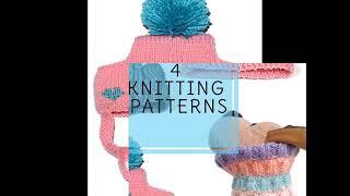 how to knit dog hat 4 knitting  pattern knit dog snood