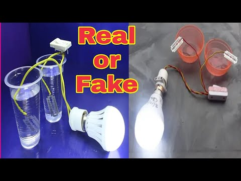 Free Energy From Blade and Salt Water | Real or Fake By Mr. BeeBom