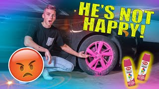 I RUINED MY DADS CAR...