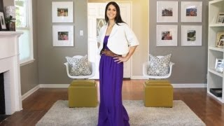 Download How to Wear a Maxi Dress || KIN STYLE Mp3 and Videos