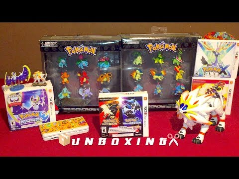 Download Youtube: Unboxing Pokémon Ultra Sun & Pokémon Ultra Moon Veteran Trainer's Dual Pack