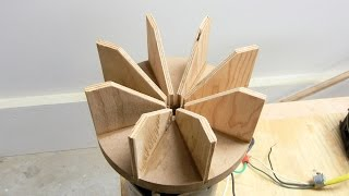 Wooden Impellers And Other Fun Stuff