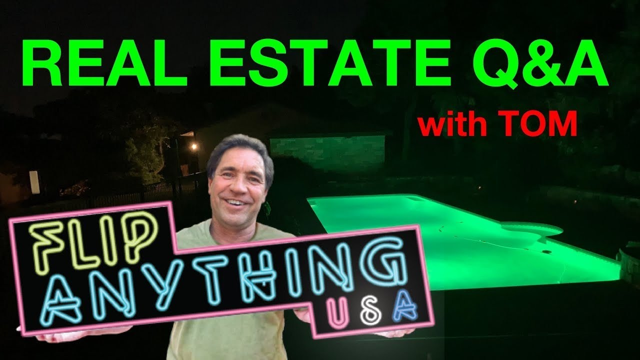 Ask Tom Poolside Q & A   You Won't Get Rich in Real Estate Being Lazy