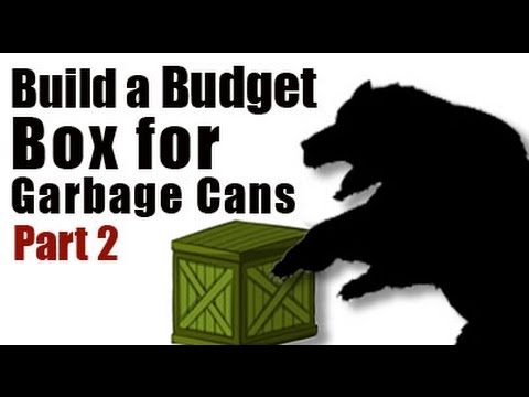 Build a Budget Box for Garbage Cans - Part 2