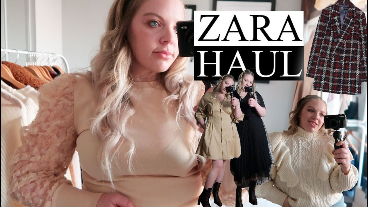 [VIDEO] - 12 items ZARA HAUL TRY ON | High End Zara Outfit Ideas 1