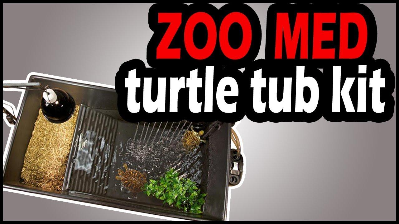 13 Gallon Zoo Med Turtle Tub