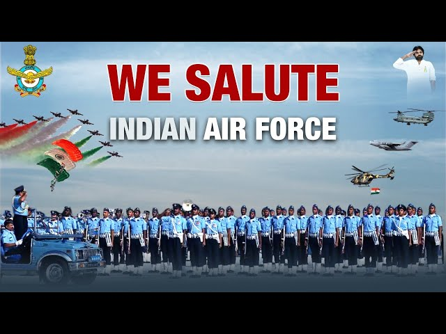 Salute to Indian Air Force | Indian Air Force Day 2020 | JanaSena Party