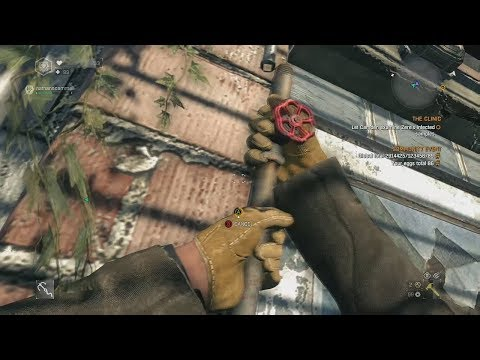 Dying Light leftover - Ripping gas pipes off walls BETA or FORGOTTEN?