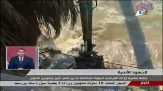 الداخلية تزيل المراسى النيلية المخالفة بين قصر النيل وكوبرى 6 أكتوبر