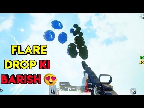 Flare Drop Ki Barish | Pubg Mobile Sanhok Map | Roasting Guru