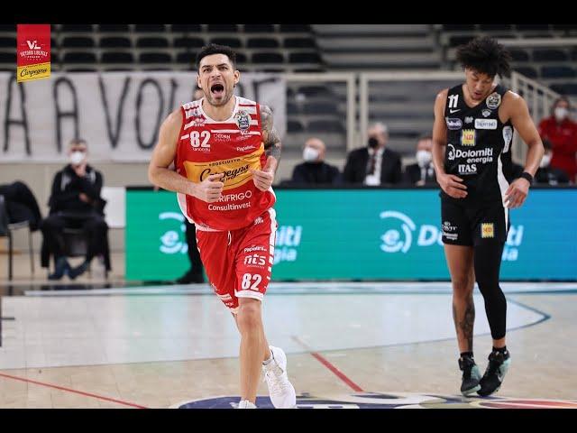 [FullMatch] Dolomiti Energia Trentino - Carpegna Prosciutto Basket Pesaro: 70-81