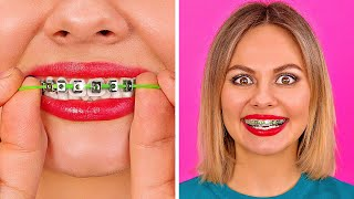WEIRD BEAUTY HACKS FOR SMART GIRLS || Easy DIY Beauty Hacks And Tricks by 123 GO!