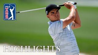 Rickie Fowler's Round 1 highlights from Houston Open