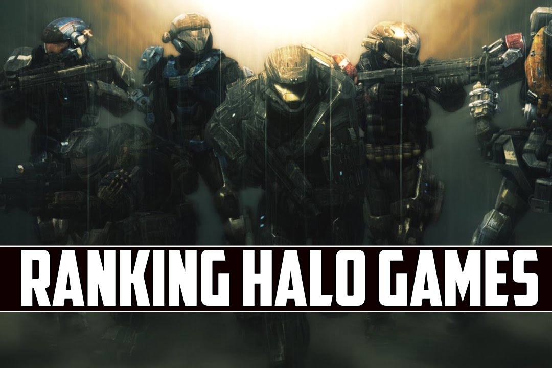 The Halo Games Ranked! (with Halo 5)