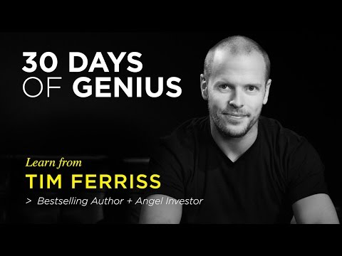 Tim Ferriss on CreativeLive | Chase Jarvis LIVE | ChaseJarvis
