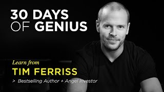 Chase Jarvis welcomes Tim Ferriss as his guest on 30 Days of Genius...
