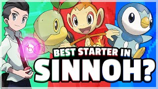 What Is The Best Starter Pokemon? (Sinnoh) Feat. Speqtor