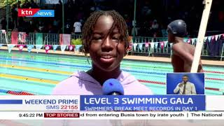 Swimmers break meet records in day 1 of the Swimming Gala at Makini