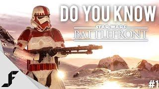 Do you know Star Wars Battlefront - Episode 1